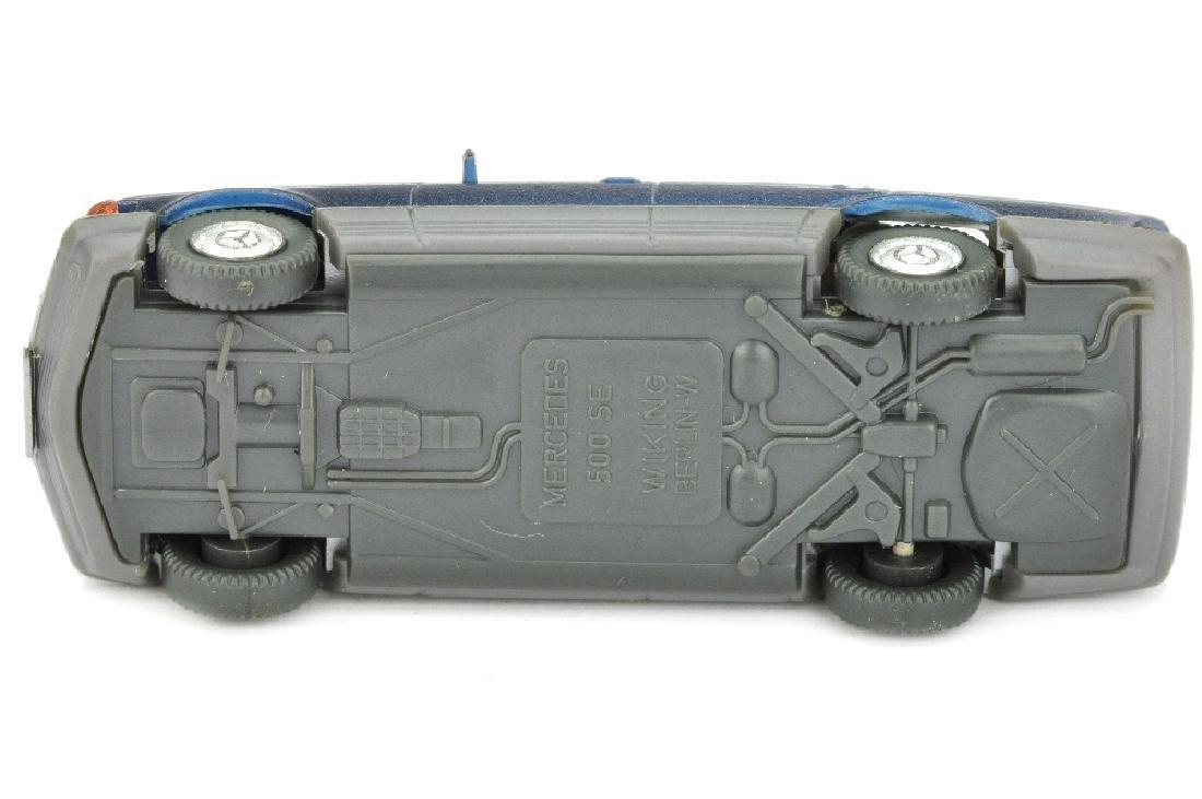 Mercedes 500 SE, dunkelblaumetallic lack - 3