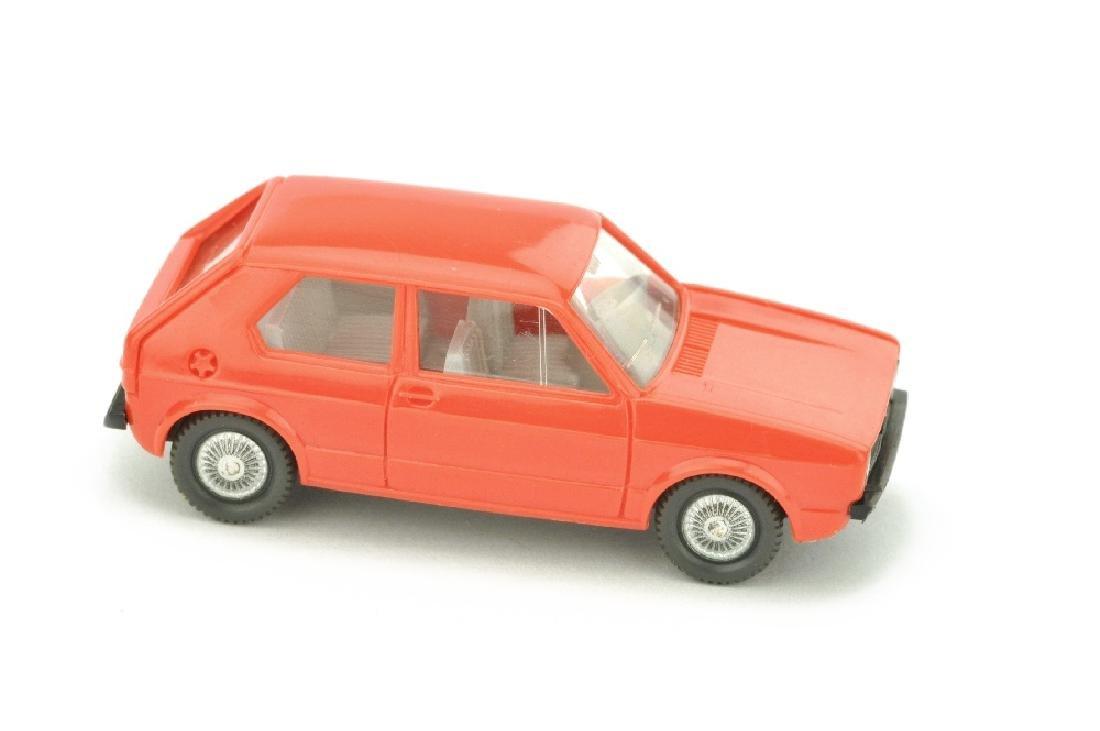 VW Golf I (2-tuerig), orangerot