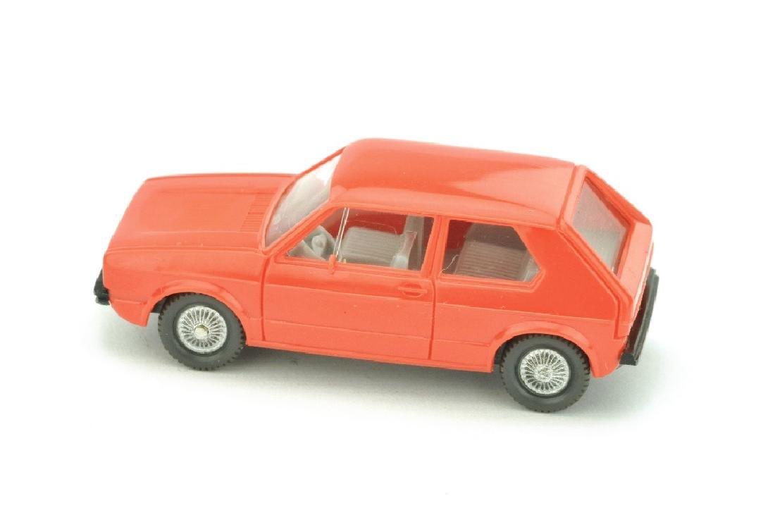 VW Golf I (2-tuerig), orangerot - 2