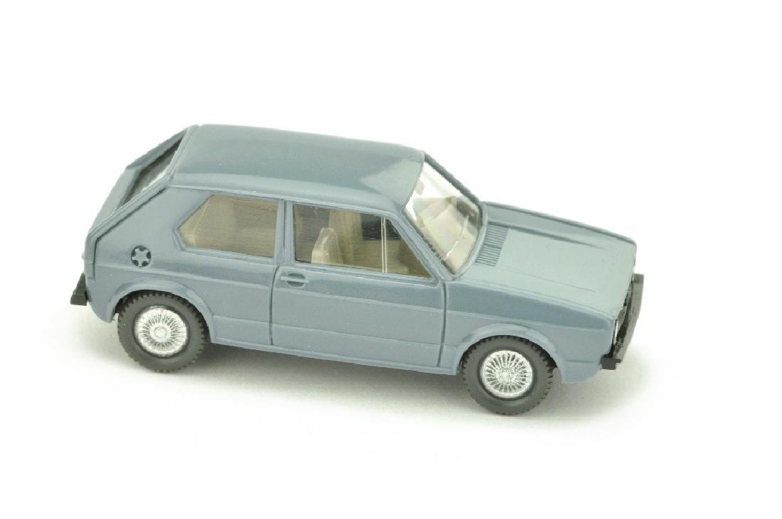 VW Golf I (2-tuerig), blaugrau