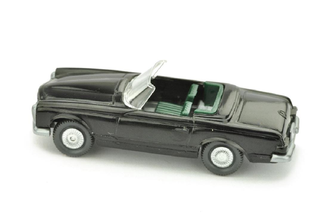Mercedes 230 SL Cabrio, schwarz - 2
