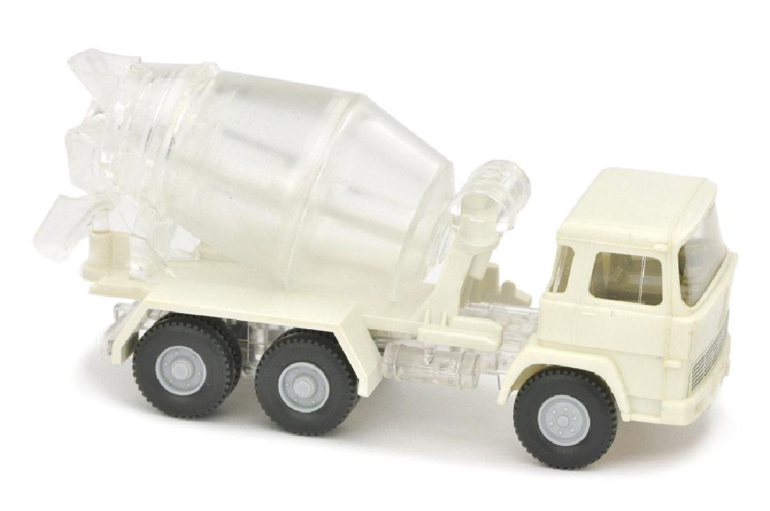 Betontransporter Magirus 260-25, weiss/transparent