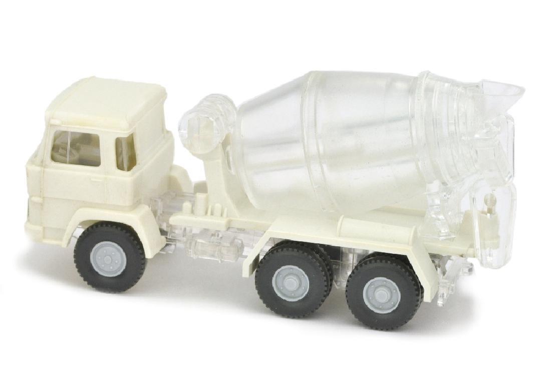 Betontransporter Magirus 260-25, weiss/transparent - 2