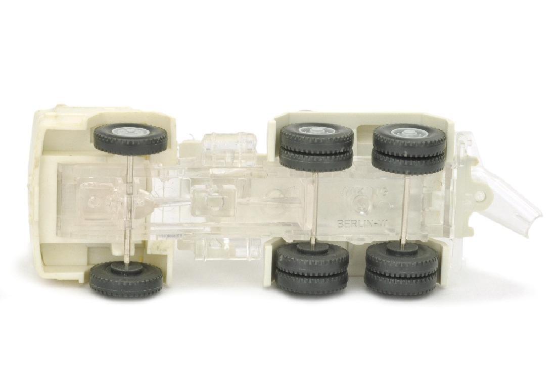 Betontransporter Magirus 260-25, weiss/transparent - 3