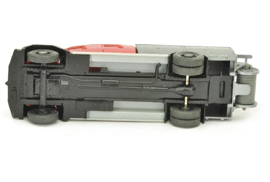 Spritzenwagen Magirus Saturn, rot/silbern - 3