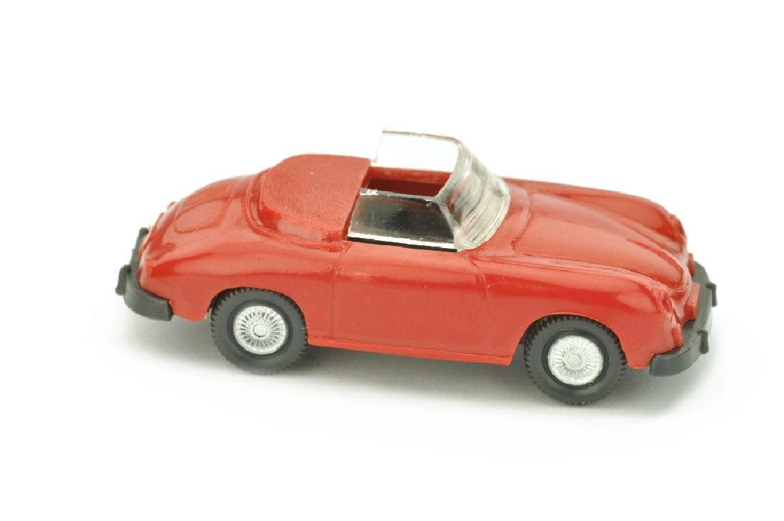 Porsche 356 Cabrio, rot/anthrazit