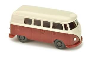 VW T1 Bus alt braunweissweinrot