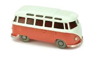 VW T1 Sambabus papyrusweissrose