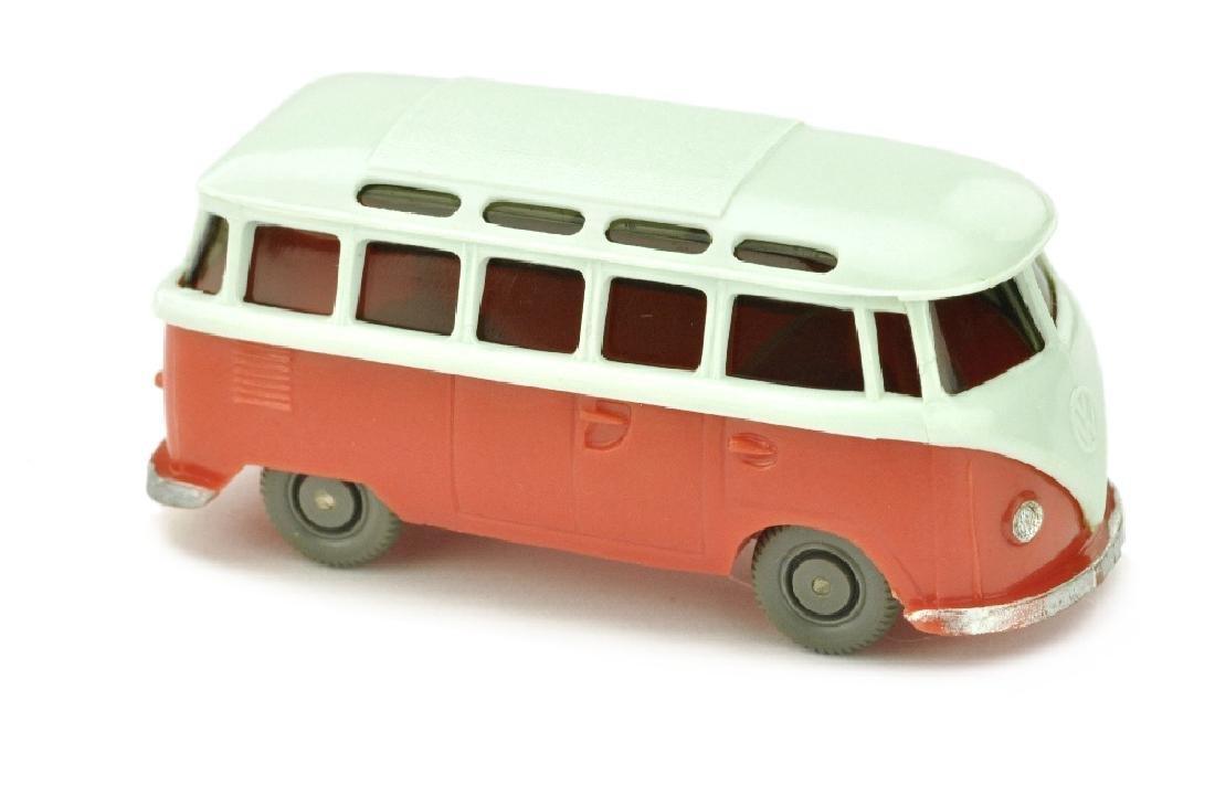 VW T1 Sambabus, papyrusweiss/rose