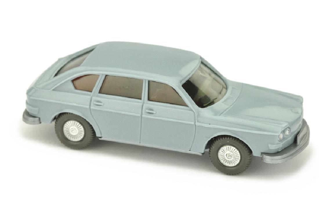 VW 411, hellgraublau