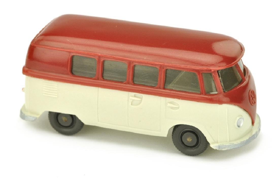 VW T1 Bus (alt), weinrot/perlweiss