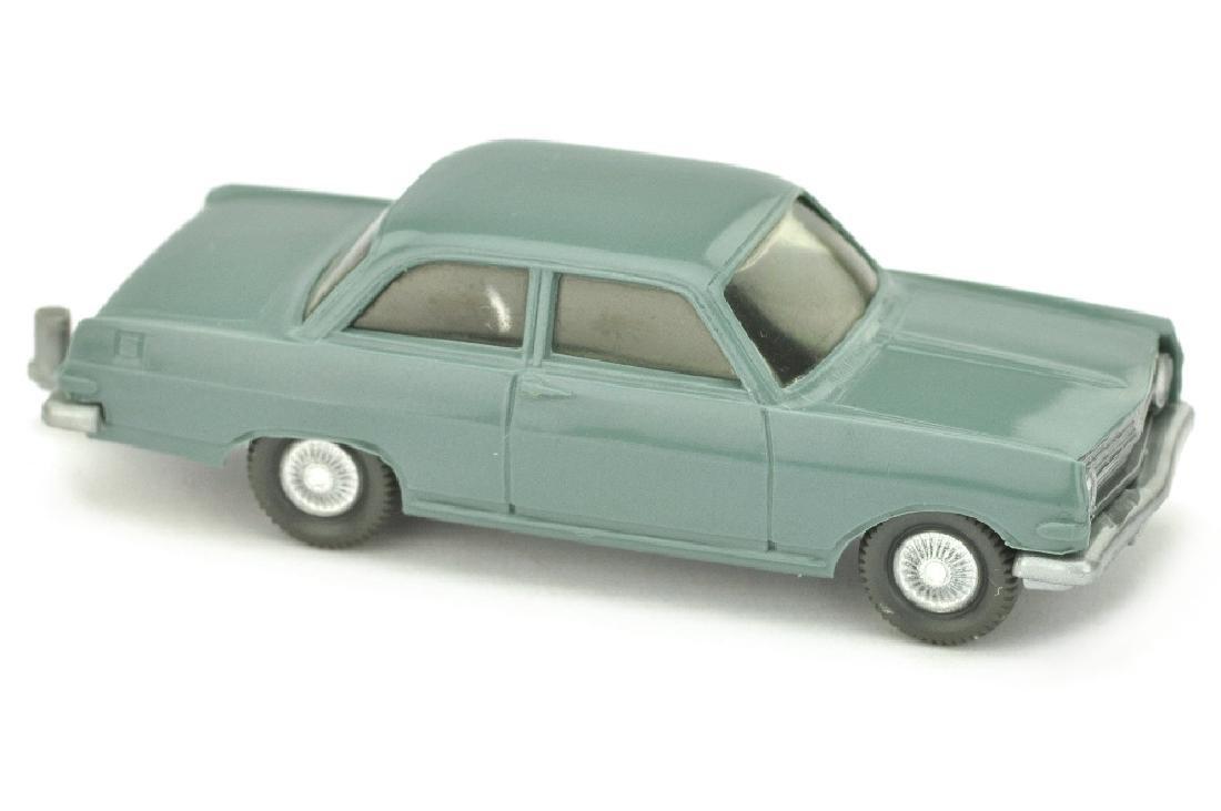 Opel Rekord A, blaugrau
