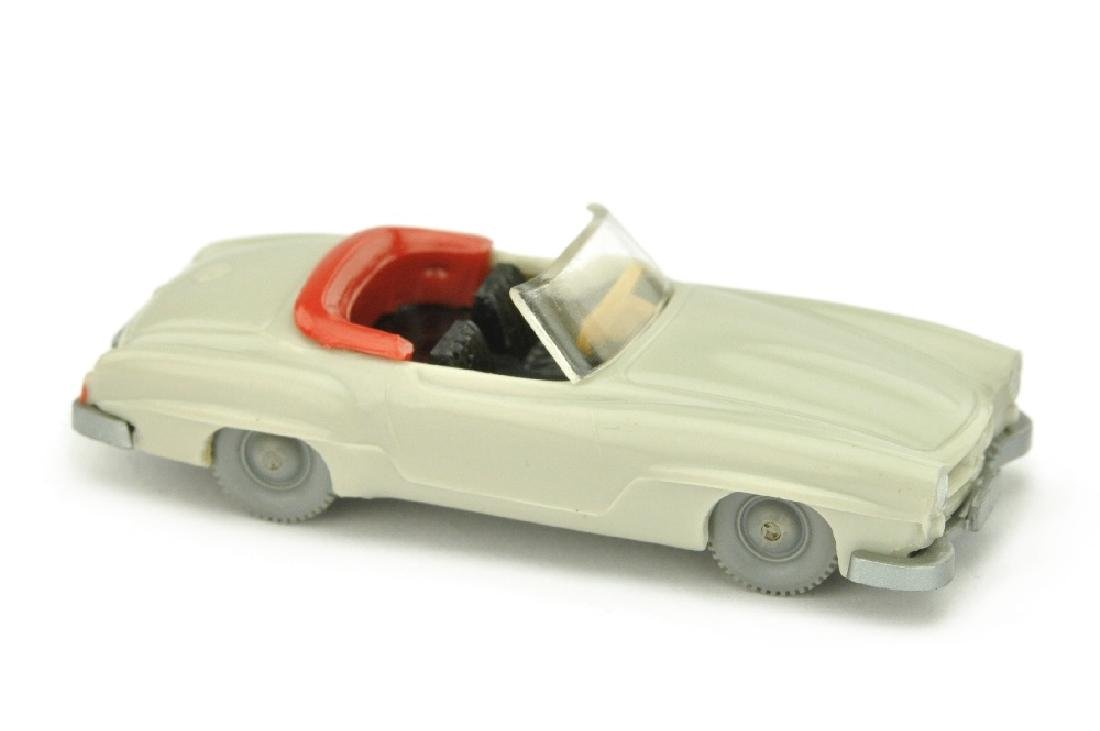 Mercedes 190 SL Cabrio, achatgrau (Version /4)