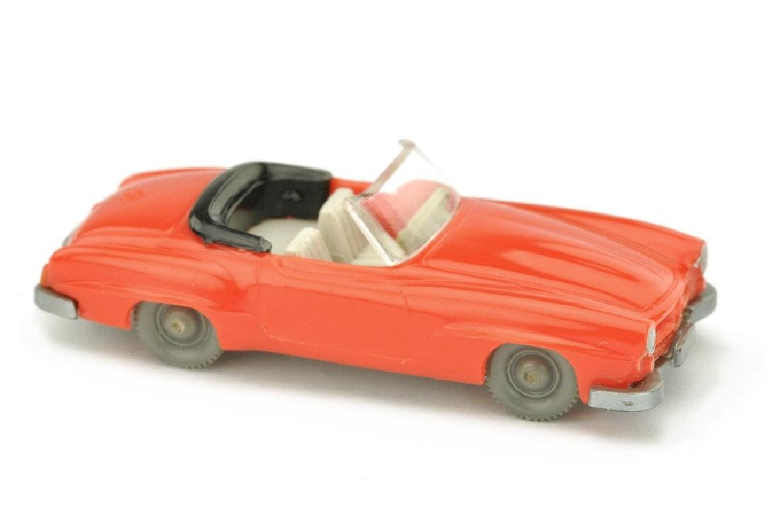 Mercedes 190 SL Cabrio, orangerot (Version /5)