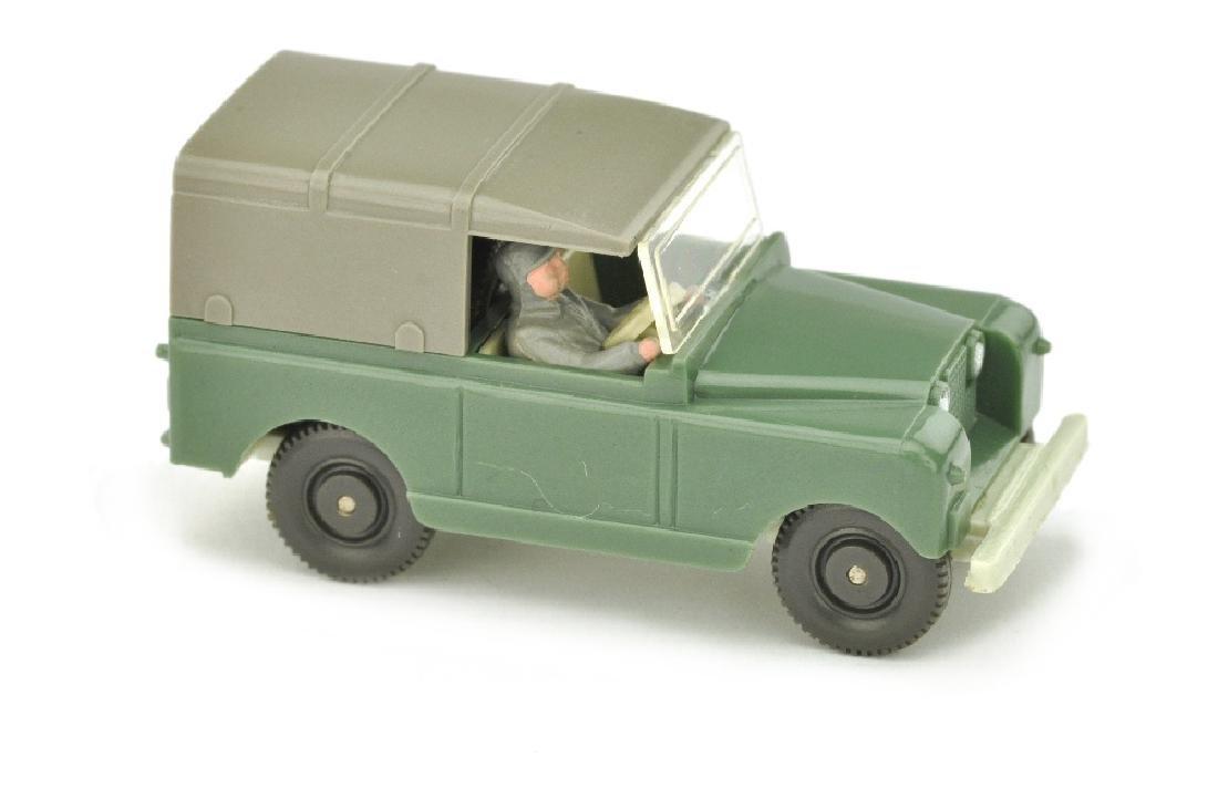 Land Rover, dunkelresedagruen/gruenlichbeige