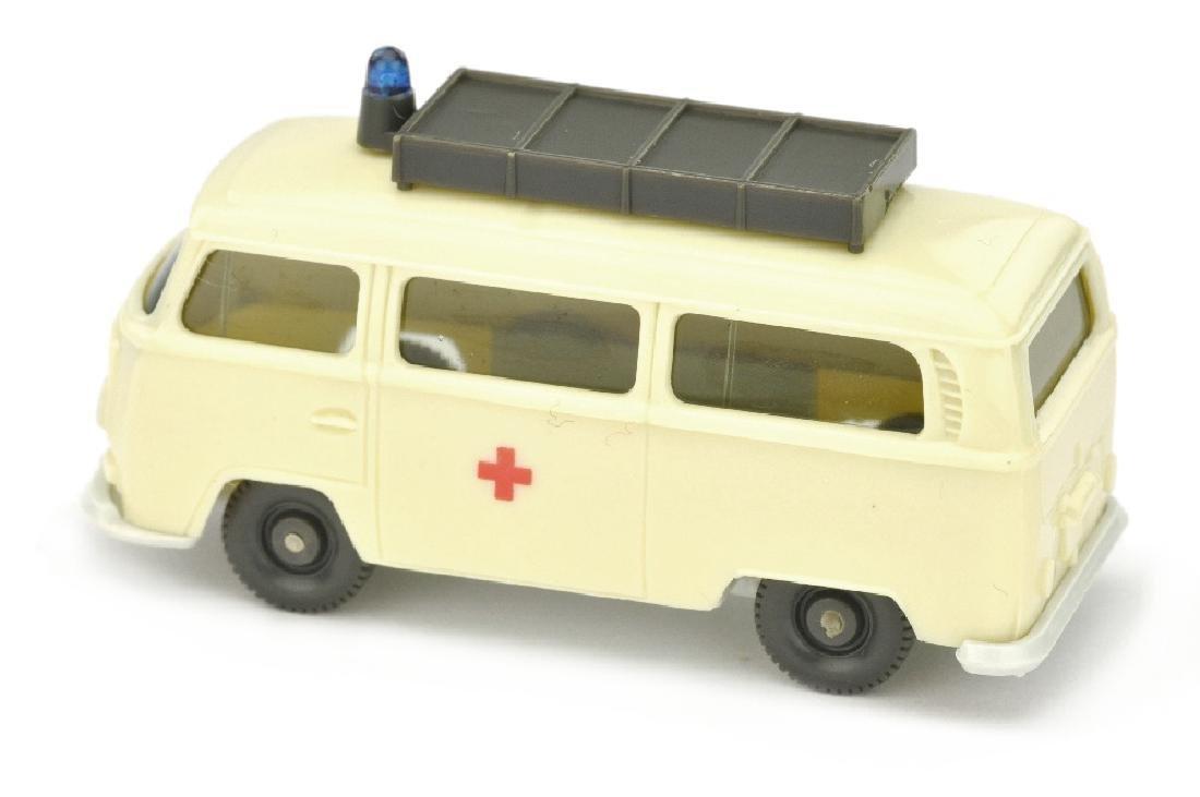 VW T2 Rotkreuz mit Aufbau, gelbelfenbein - 2