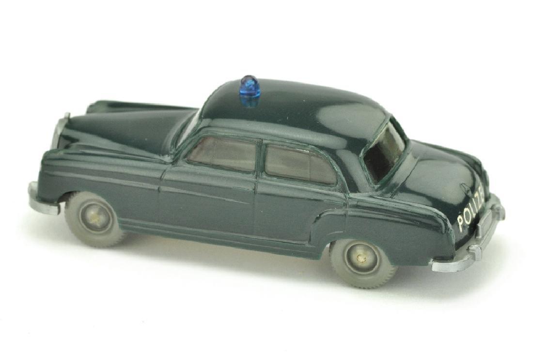 Polizeiwagen MB 220, blaugruen (mit OPS) - 2