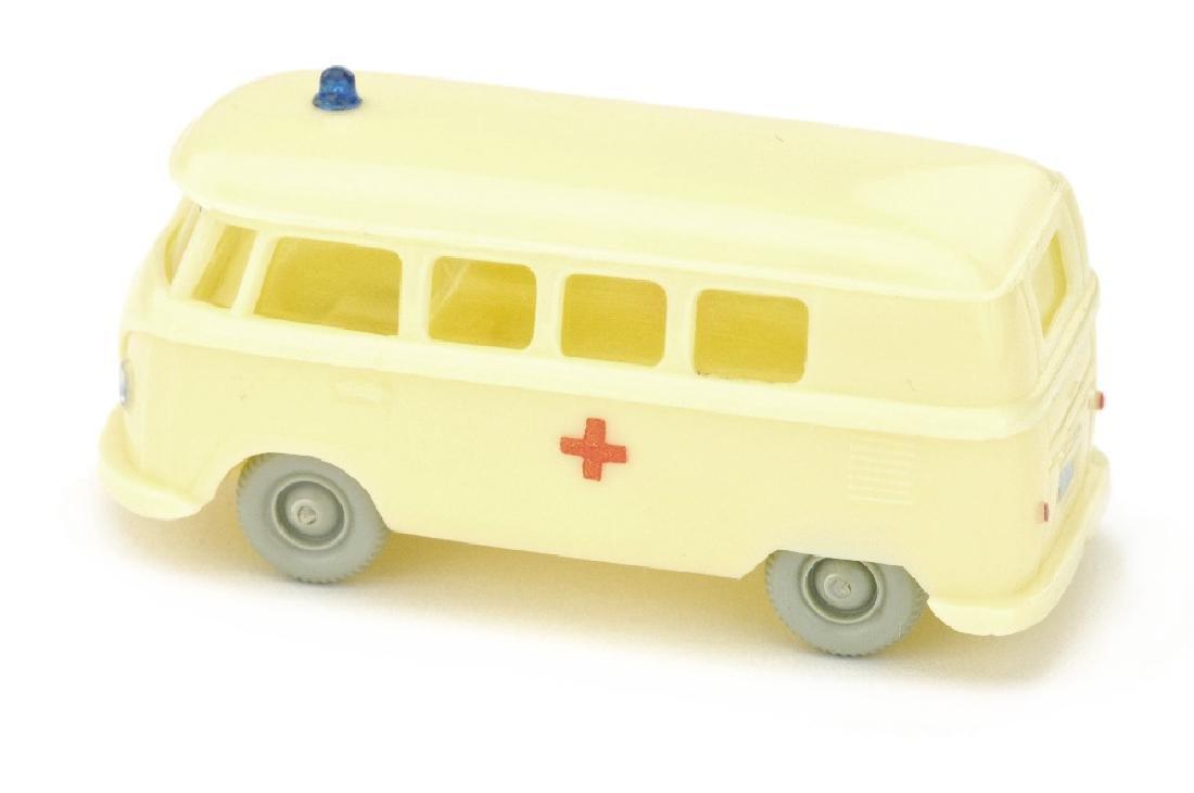 VW T1 Bus Rotkreuz, gelbelfenbein (Druck) - 2
