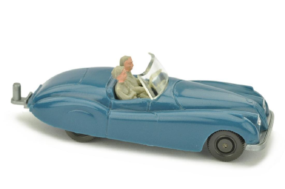 Jaguar XK (Typ 2), azurblau