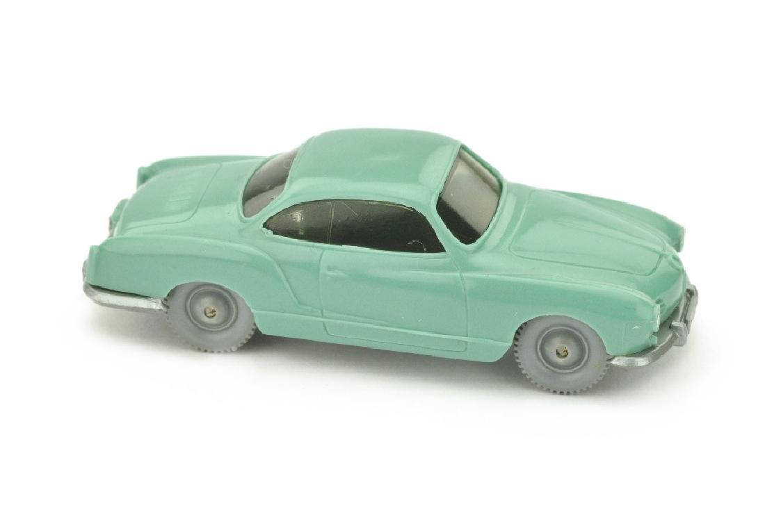 VW Karmann Ghia, tuerkis