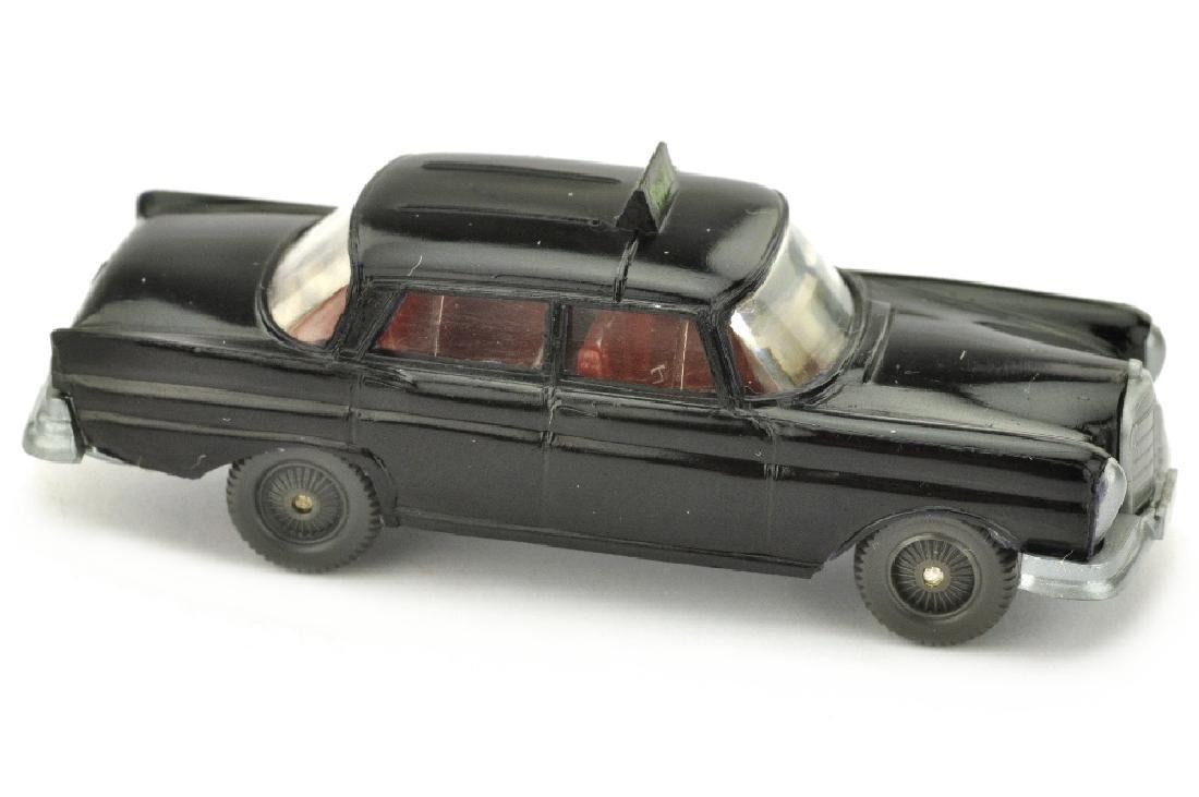 "Taxi Mercedes 220 Heckflosse (""Taxi"" gelbgruen)"