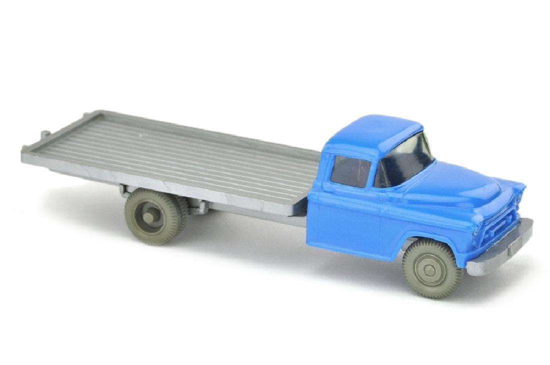 Chevrolet Flachpritsche, himmelblau