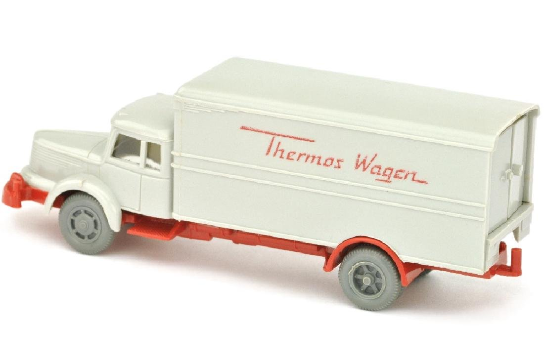 Thermos-Wagen Krupp-Titan, achatgrau/rot - 2