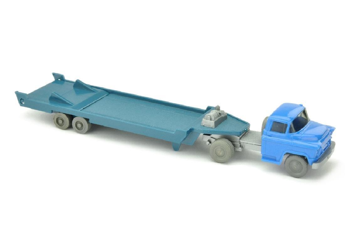 Tieflader (neu) Chevrolet, himmelblau