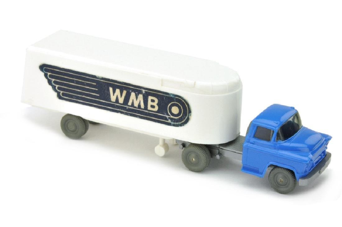 Sattelzug Chevrolet WMB (ausgestanzt), weiss