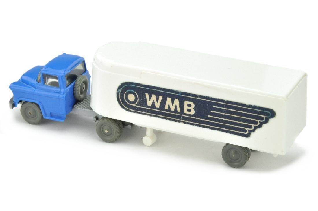 Sattelzug Chevrolet WMB (ausgestanzt), weiss - 2
