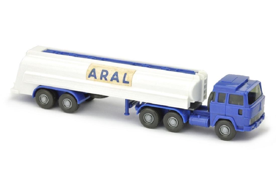Aral-Tanksattelzug Magirus 235 (Papieraufkleber)