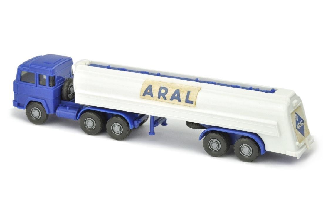 Aral-Tanksattelzug Magirus 235 (Papieraufkleber) - 2