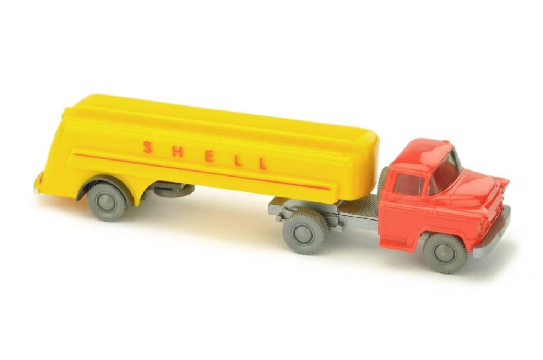 Shell-Tanksattelzug Chevrolet
