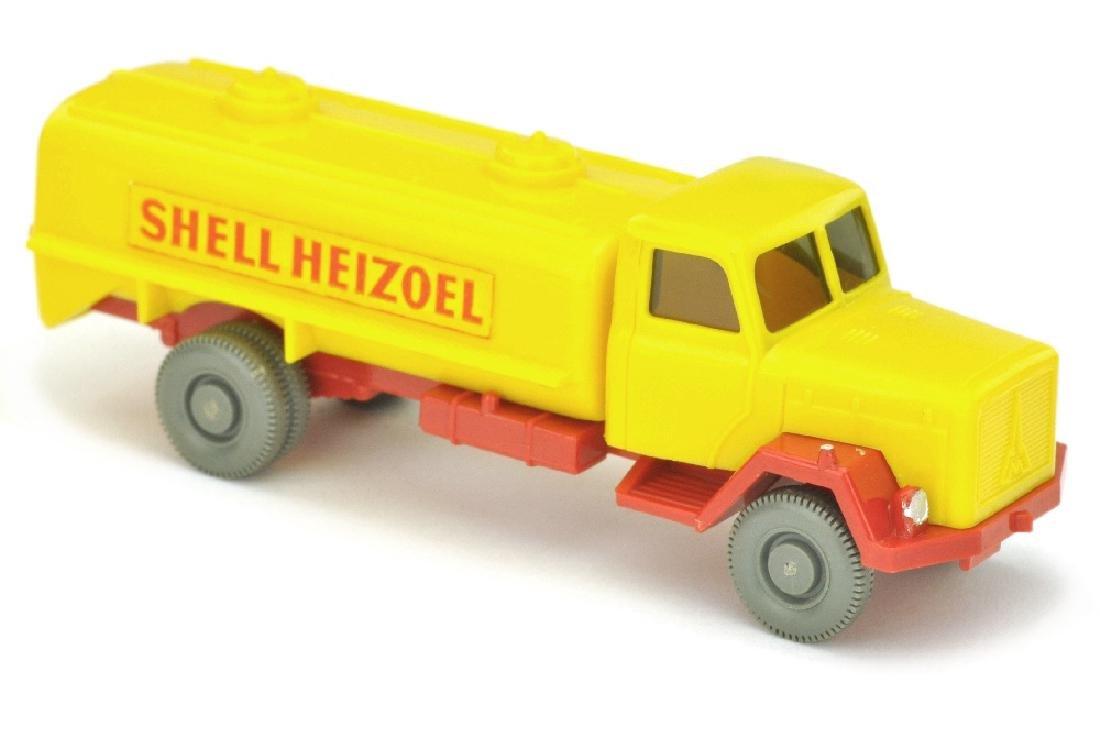 Tankwagen Saturn Shell Heizoel (Kabine gelb)