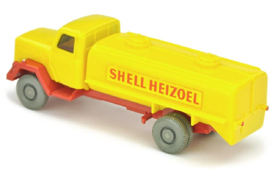 Tankwagen Saturn Shell Heizoel (Kabine gelb) - 2