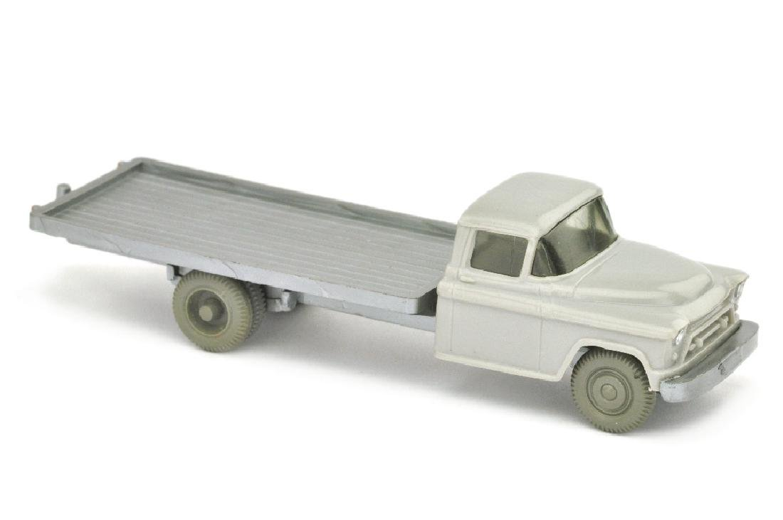 Chevrolet Flachpritsche, d'-silbergrau