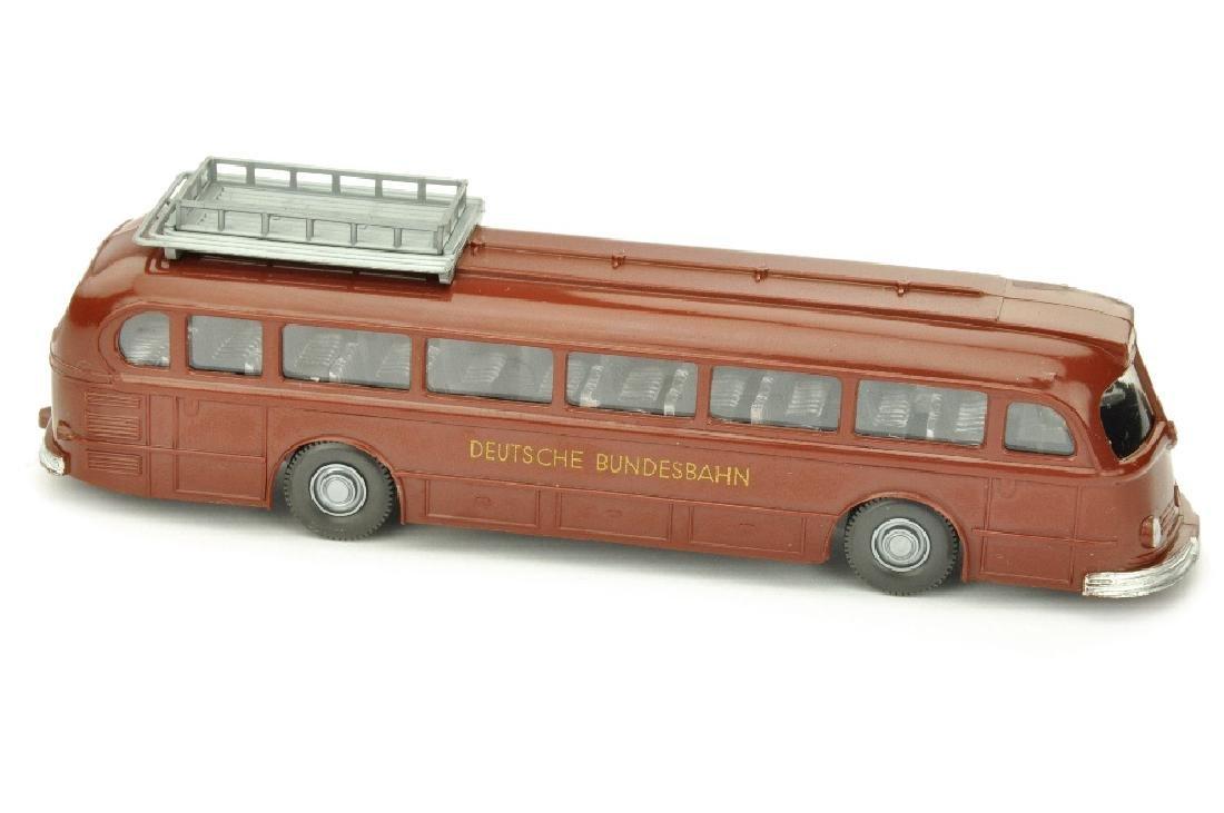 Mercedes O 6600 Bundesbahn, rotbraun
