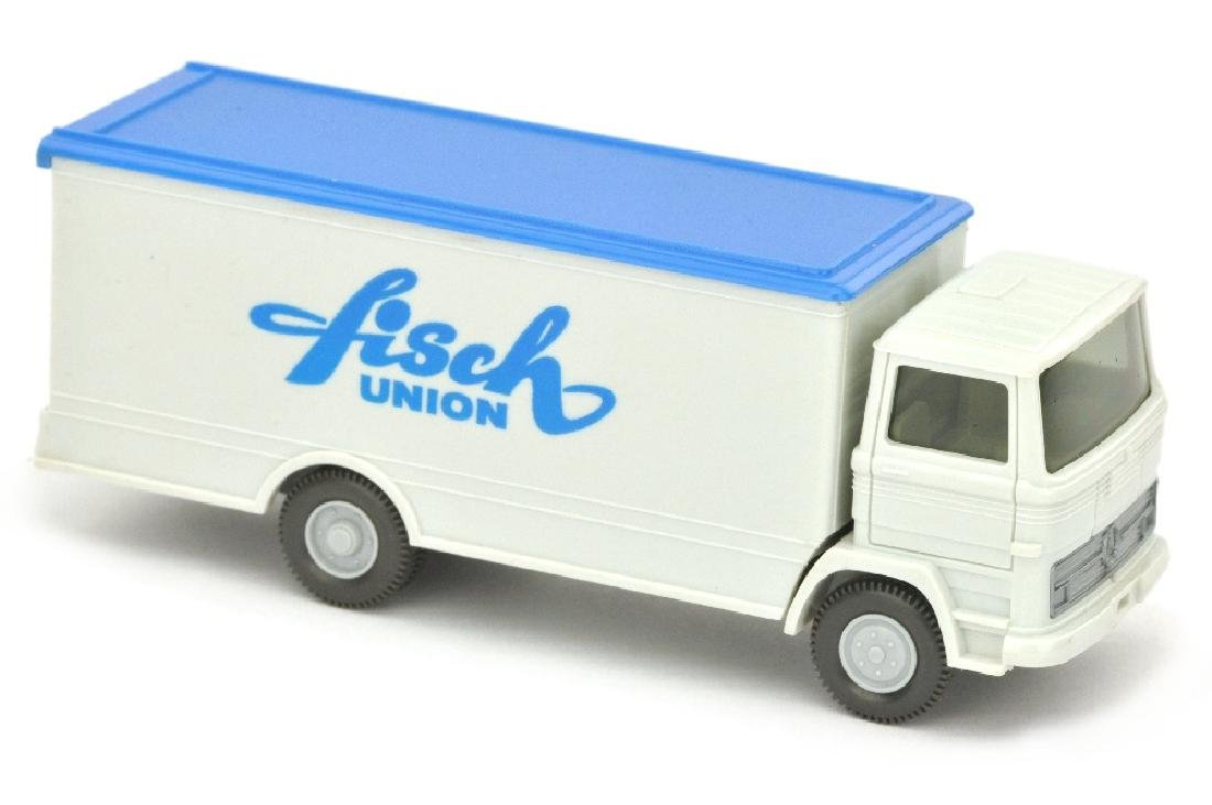 MB 1317 fisch union, altweiss (Chassis anthrazit)
