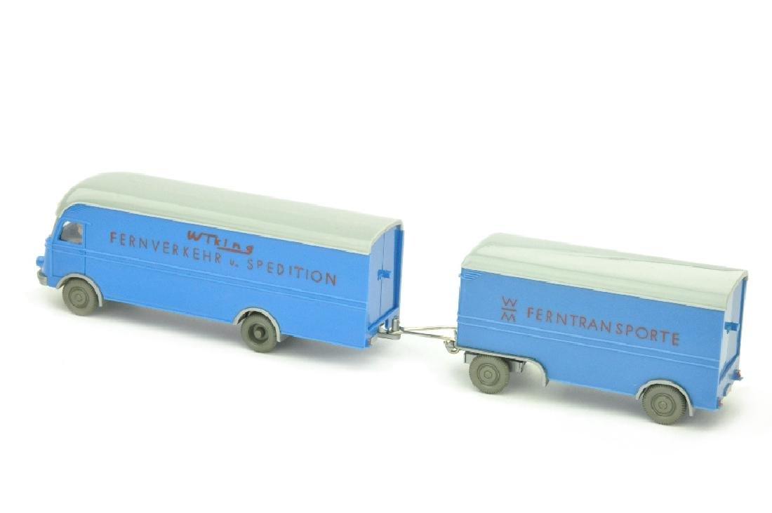 Moebelzug MB 312 Wiking Fernverkehr, himmelblau - 2