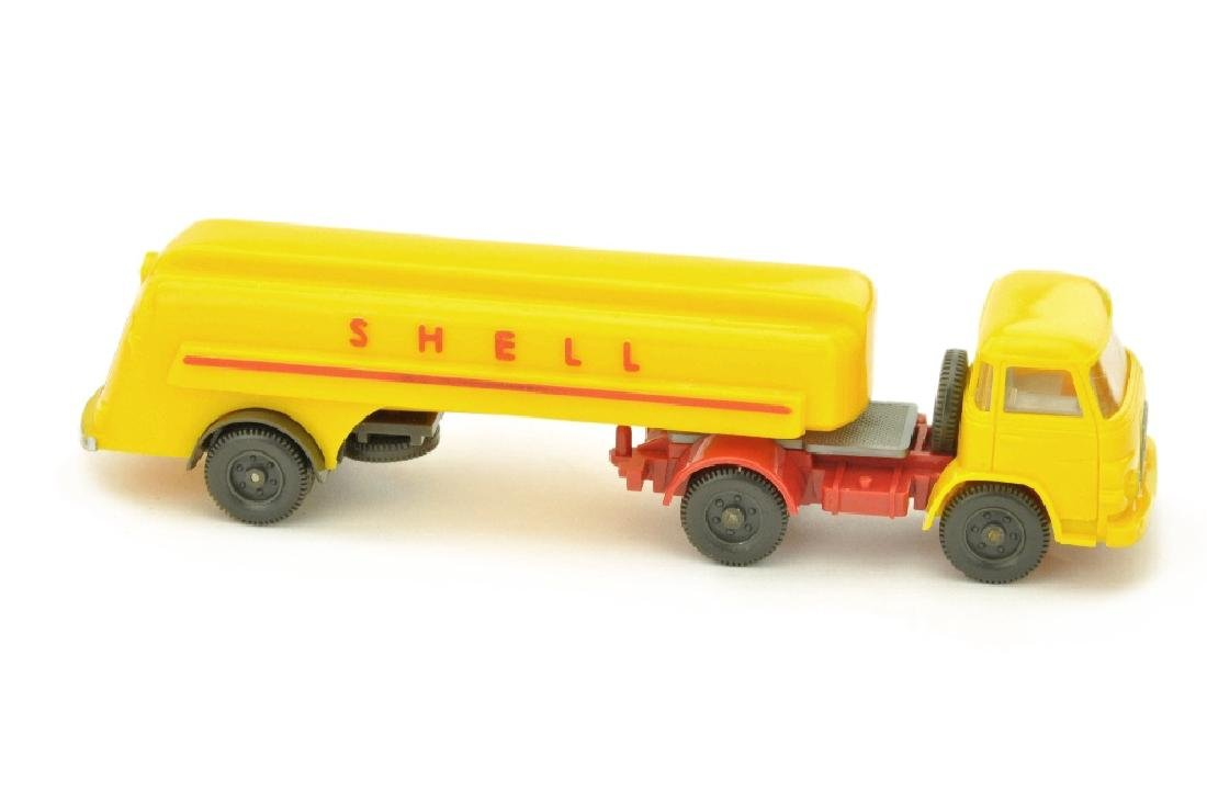 Shell-Tanksattelzug MAN 415