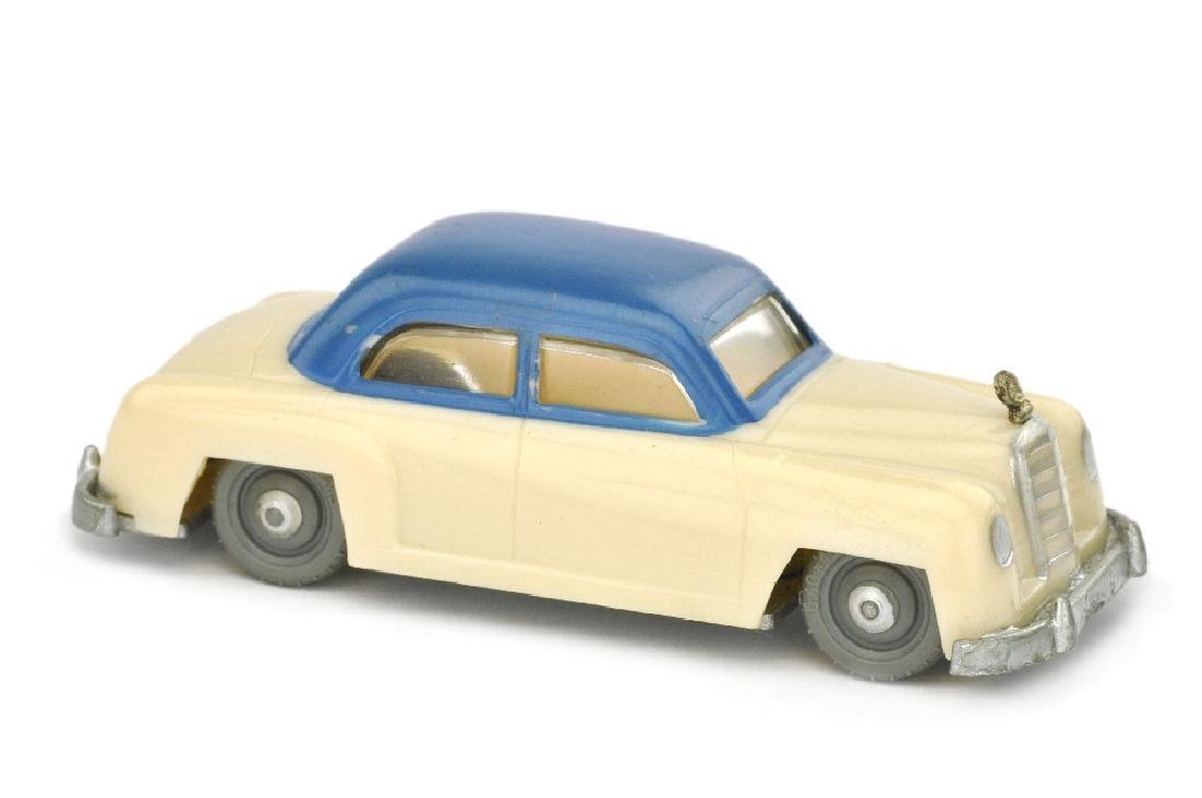 SIKU - (V 2) Mercedes 180, hellelfenbein/blau