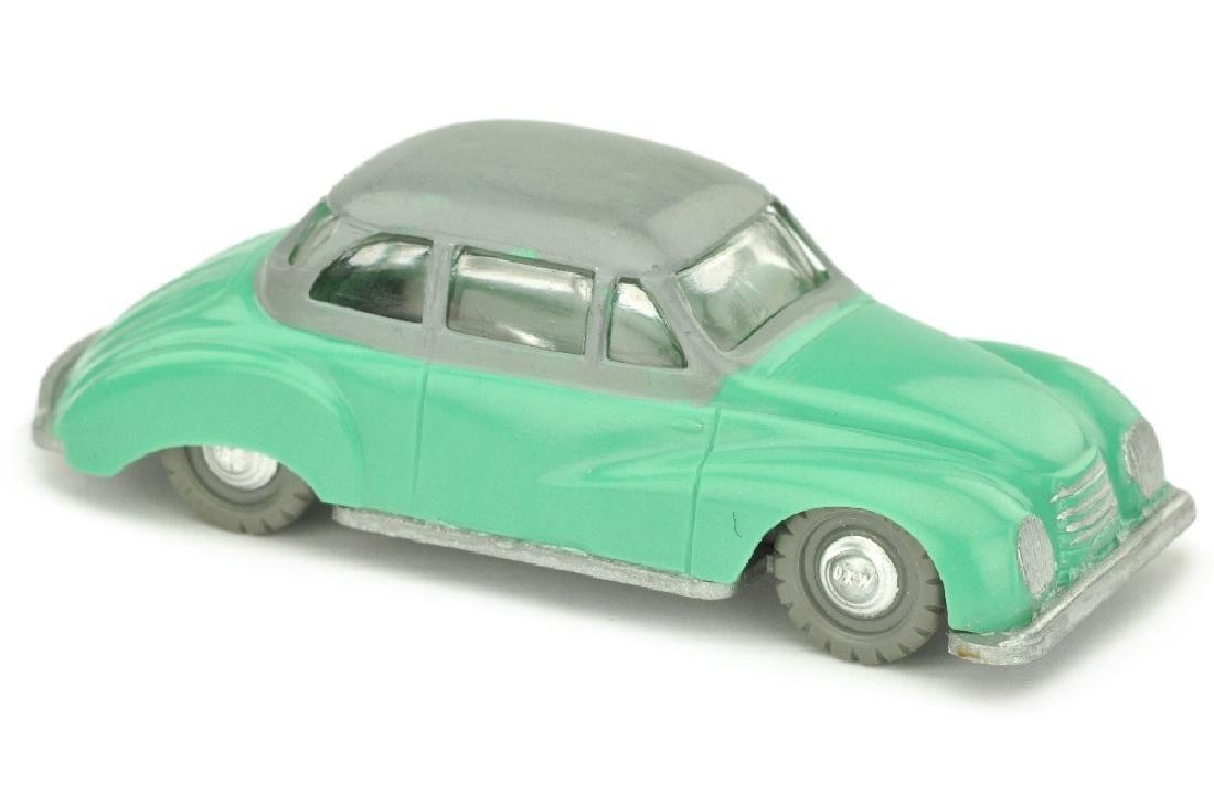 SIKU - (V 26) DKW Sonderklasse, patinagruen/grau