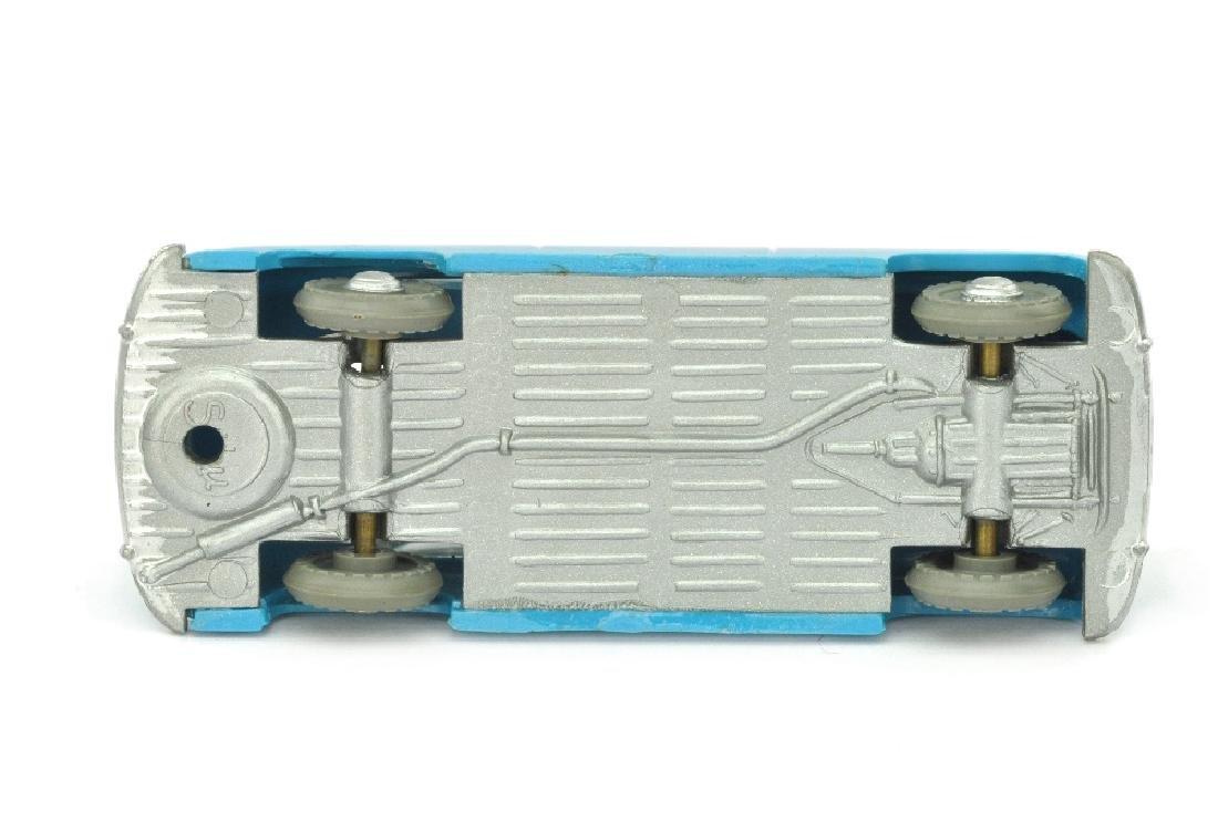 SIKU - (V 66) Borgward 1800 mit Skiern, adriablau - 2