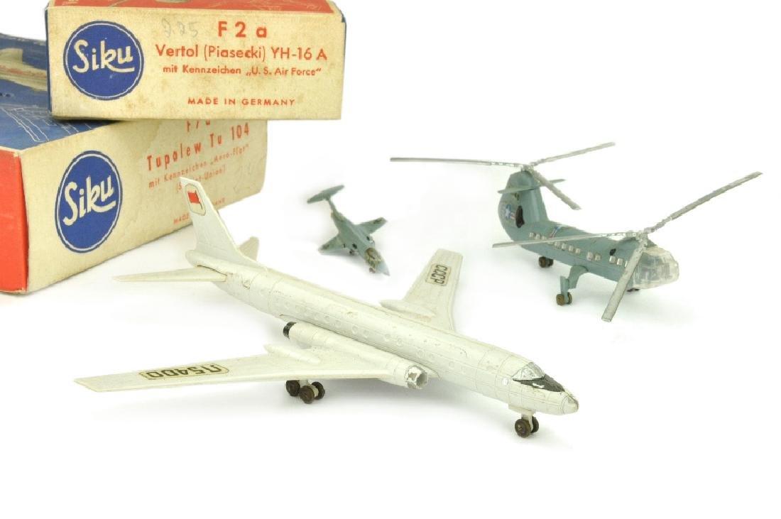 SIKU - Konvolut 3 Flugzeuge