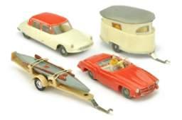 SIKU  Konvolut 4 Modelle der 50er60er Jahre