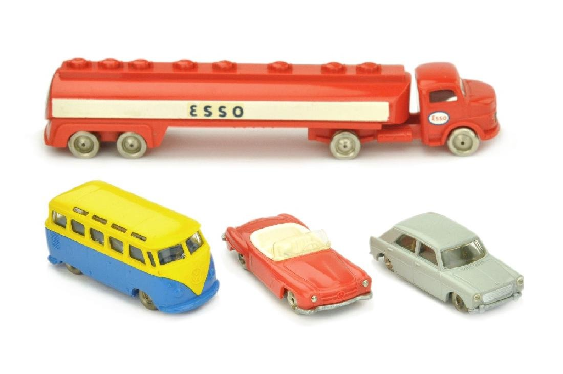 Lego - Konvolut 4 Fahrzeuge (2.Wahl)