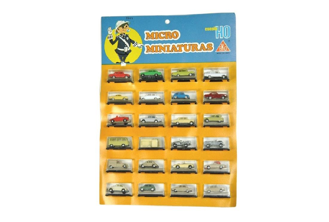 EKO - Verkaufssortiment mit 24 Modellen
