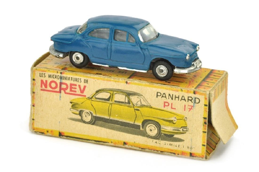 Norev - Panhard 17 PL, dunkelblau (im Ork)