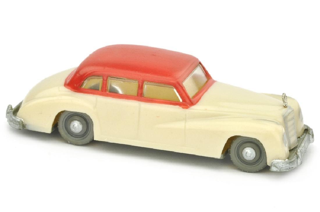 SIKU - (V 1) Mercedes 300, hellelfenbein/rot