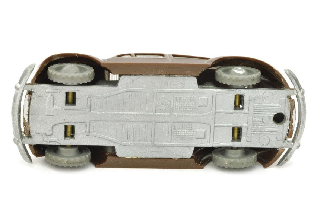 SIKU - (V 13) VW Kaefer 1953, schokobraun - 2